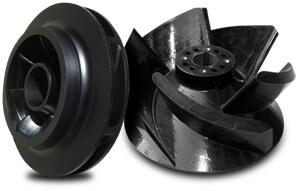 Fig. 11 Nonmetallic composite pump impeller15